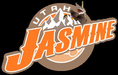 Utah Jasmine Logo (Alt Mountain)